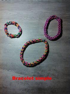 bjr voici le tuto du bracelet simple pour les ptits loup   https://www.youtube.com/watch?v=LwnWXdteGx8&feature=youtu.be
