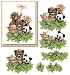 780-DECOUPAGE-ANIMAL-SHEETS-ARTS-AND-CRAFTS-ON-CD