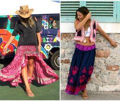 Looks Judit - Falda Asimetrica by FreeLove Ibiza available at IbizaTrendy Julia Ibiza Trendy 2015