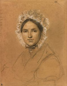 Antoine-Jean Gros   Portrait of a Woman   ca. 1825   The Morgan Library & Museum