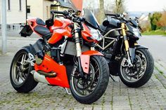 Ducati Streetfighter S and Panigale Streetfighter