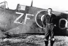 Death was close; 308 (Polish) Squadron Spitfire