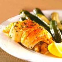 Flounder with shrimp. Looks so good.