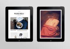 Natasha Mead is the genius NZ design student behind Milk iPad Magazine - Graphic & Webdesign