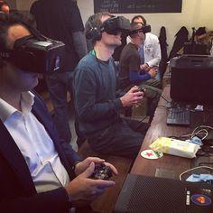 An awesome Virtual Reality pic! В Амстердаме открылось интернет-кафе виртуальной реальности  #vr #oculusrift #vrglasses #virtualreality #виртуальнаяреальность #googlecardboard #oculus #realvirt #amsterdam #apple by vr.realvirt check us out: http://bit.ly/1KyLetq