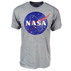 Nasa logo T-shirt from clothesmapper.com This t-shirt is Made To Order, one by one printed so we can control the quality.