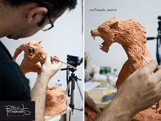RICK FERNANDES: Workshop de criatura- Lobisomem