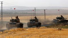 More Turkish tanks have crossed the border into Syria in a military operation…