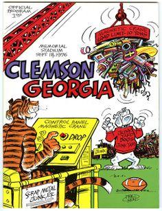 Clemson Football, College Football Teams, Football Program, Clemson Tigers, Clemson Vs, Auburn Tigers, University Of South Carolina, South Carolina Gamecocks, University Of Georgia