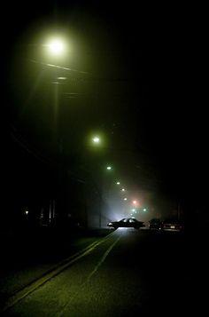 car In Street Night by tony wood photo