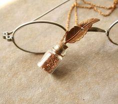 Pretty Quill Necklace :)
