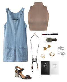 """""""Anthropology"""" by afro-prep ❤ liked on Polyvore featuring WearAll, Calvin Klein, Deborah Lippmann, Topshop, Argento Vivo, Urban Outfitters, New Look and Sloane Stationery"""