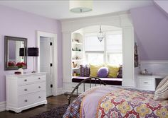"Paint Color: ""Lily Lavender 2071-60 by Benjamin Moore"". #PaintColor #BenjaminMoore #LilyLavender"