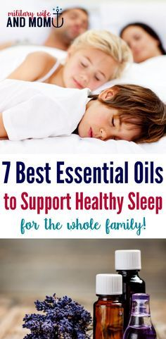Perfect list of essential oils for sleep. How your whole family can sleep well and wake up rested using essential oils.  via @lauren9098