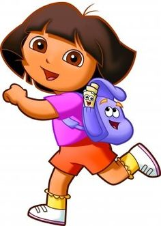 Dora the Explorer. That bitch has everything in her backpack!