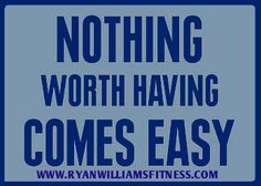 It will take commitment, dedication and motivation but it will be worth it.  Your body will change and you will feel better.   www.ryanwilliamsfitness.com