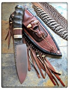 www.pinterest.com/1895gunner/  Wayne Morgan Knives.