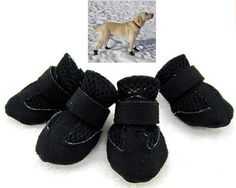 4 Pcs Pet Doggie Mesh Shoes Breathable Boots Shoes Black-S-Kailian® ** Check this awesome product by going to the link at the image. (This is an affiliate link and I receive a commission for the sales) Chihuahua For Sale, Dogs For Sale, Large Dogs, Small Dogs, Small Dog Accessories, Winter Shoes, Yorkie, Black Boots, Pet Supplies