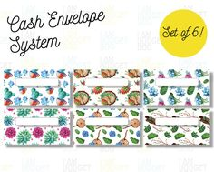 CASH BUDGET ENVELOPE, Finance Planner, Track Your Budget, Dave Ramsey Envelope, Income Tracker, Cash Envelope Wallet (Horizontal envelope set of 6!)#plannercommunity #tablesetting #planner #wallart #printablesemarang #printablewallart #papercraft #prints #polyflex #bridalshower #love #decoandlifestyle #semarang #genieten #buntingflag Envelope Budget System, Cash Envelope System, Budget Envelopes, Money Envelopes, Cash Envelope Pattern, Etsy Business, Dave Ramsey, Budgeting, Finance