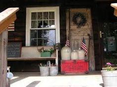 Primitive Porch..