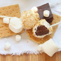 Itsy Bitsy Foodies: S'mores Fudge Pops
