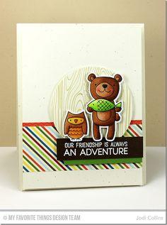 MFT Warm & Fuzzy Friends Card Kit - Jodi Collins  #mftstamps