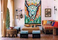 Bull skull poster, art, longhorn, tribal, native american, skull art, texas, agave, tequila, man cave, western, cowboy, man,skull painting