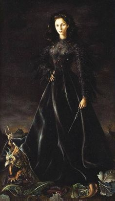 Leonor Fini Ritratto della Principessa Francesca Ruspoli oil on canvas
