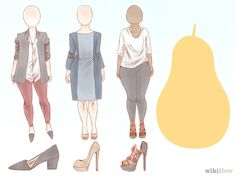 How to Dress If You've Got a Pear-Shaped Figure via wikiHow.com #fashion #style