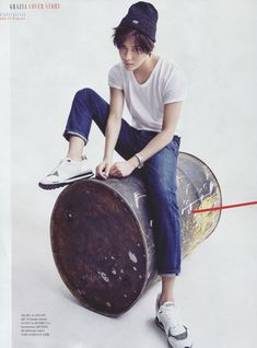 150729 SHINee Taemin - Grazia Magazine August Issue