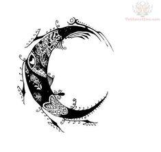 Moon Tattoo Idea