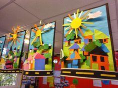 First grade art, grade 3 art, third grade, ecole art, kindergarten Kindergarten Art, Preschool Art, First Grade Art, Third Grade, Grade 3, Sixth Grade, Ecole Art, School Art Projects, Art Education Projects