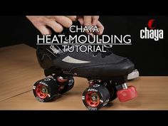 """""""Direct"""" Heat Moulding Tutorial by Kid Block. These steps are for a Chaya boot, but try them with any heat mouldable debt boot like Bont or Crazy DBX"""