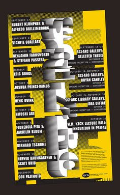 Get Lectured: SCI-Arc, Fall '14 | Archinect