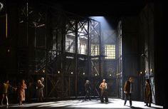 Régis Campo's Quai Ouest from l'Opéra national du Rhin. Production by Kristian Frédric. Sets by Bruno de Lavenère.