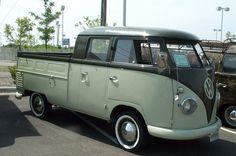 Dual Cab VW Bus Truck