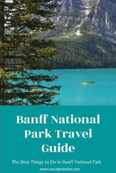 Planning a trip to Banff National Park? Check out this Banff travel guide for all the best things to do and see on your Banff vacation. | banff national park | banff vacation | banff trip | Canada | Canadian Rockies | mountain travel ideas | Alberta Canada, Banff Canada, Banff Alberta, Best Places To Travel, Cool Places To Visit, Quebec, Banff National Park, Canada National Parks, Jasper National Park