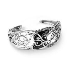 Carolyn Pollack Sterling Silver Black Onyx Bracelet
