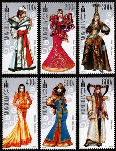Modern Mongolian's National Costumes 2012