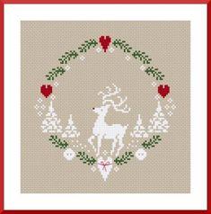 reindeer circle.
