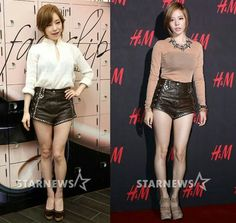 Who Wore It Better?!  Brown Eyed Girl Gain X SNSD Sunny 👉 Gain!!!  #WhoWoreItBetter #Gain #sunny #beg #snsd #kpop #girlgroup