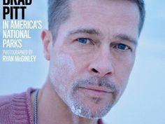 """Diese Augen! Stechend blau und mit intensivem, aber traurigem Blick fallen sie einem als erstes auf, wenn man die neue """"GQ Style"""" sieht. Brad Pitt ziert die Titelseite der Sommer-Ausgabe der Männer-Zeitschrift. Sein erstes Cover seit der Trennung von Angelina Jolie. Genau genommen sind es sogar mehrere, denn die Zeitschrift wählte für die Sommer-Ausgabe drei unterschiedliche Titelseiten."""