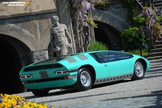 The Bizzarrini Manta is for sale in Monterey.    http://mycarquest.com/2012/07/the-bizzarrini-manta-is-for-sale.html