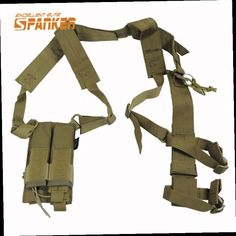 53.28$  Watch here - http://alijbx.worldwells.pw/go.php?t=32566688074 - Tactical Military Airsoft Men Security Armpit Holster Strap Lanyard Adjustable Hunting Shoulder Magazine Pouch for Shooting