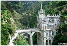 Las Lajas Cathedral Sanctuary near Ipiales, Colombia, South America