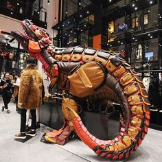 """COACH, """"How many bags do you think went into the making of this Rexy?"""", pinned by Ton van der Veer"""