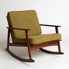 Mid-Century Rocker Chair