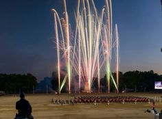 Beating Retreat 2014 FTF Worldwide Event Management Fully Fused Fireworks