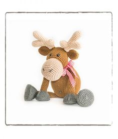 New Crochet Patrones Gratis Amigurumi Haken Ideas Crochet Amigurumi, Crochet Teddy, Love Crochet, Crochet Gifts, Diy Crochet, Crochet Toys, Crochet Baby, Indus, Kawaii Crochet