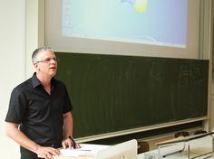 Sven Hansen, Informatiklehrer am Leipziger Heisenberg-Gymnasium lobte das Engagement der Teilnehmer